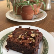 Hazelnut Brownie, Linton Kitchen, Cambridgeshire // The Little Edition