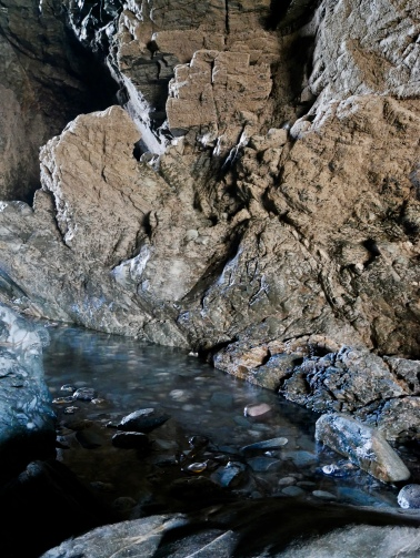 Merlin's Cave, Tintagel, Cornwall // The Little Edition