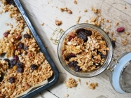 Fruit and Nut Granola // The Little Edition