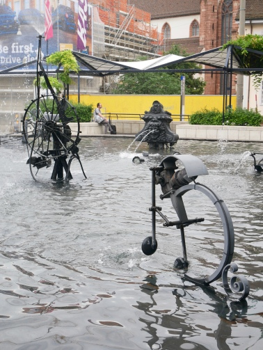 Tinguely Fountain, Basel, Switzerland // The Little Edition