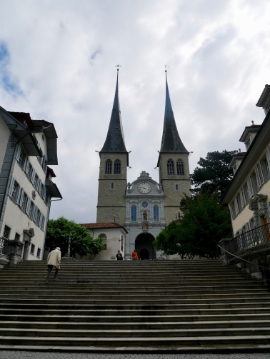 St Leodegar Church (Hofkirche), Lucerne, Switzerland // The Little Edition