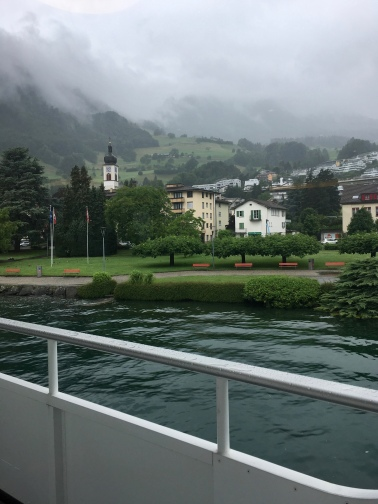 Boat to Mt Pilatus, Lucerne, Switzerland // The Little Edition