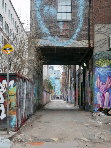 Graffiti Alley, Toronto // The Little Edition