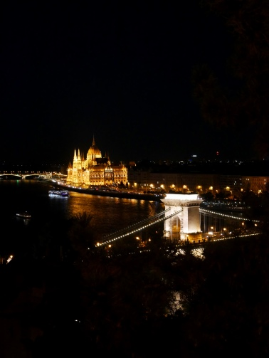Danube from Buda Castle, Budapest // The Little Edition
