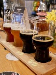 beer flight, Lajbah, Ljubljana, Slovenia // The Little Edition