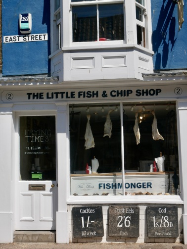 The Little Fish & Chip Shop, Southwold, England // The Little Edition
